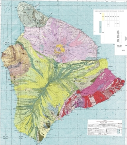 Geologic map of the State of Hawai'i [Plate 8: Geologic map of the island of Hawai'i [scale 1:250,000]]