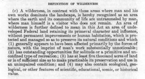 definitionwilderness
